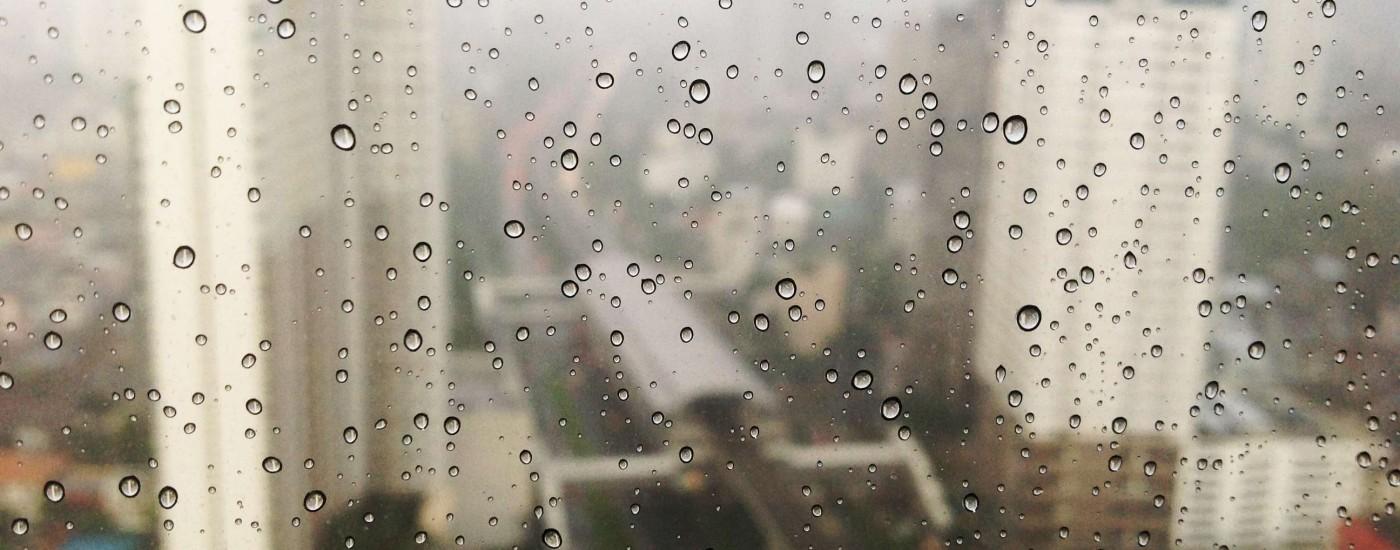Droplets on a Window